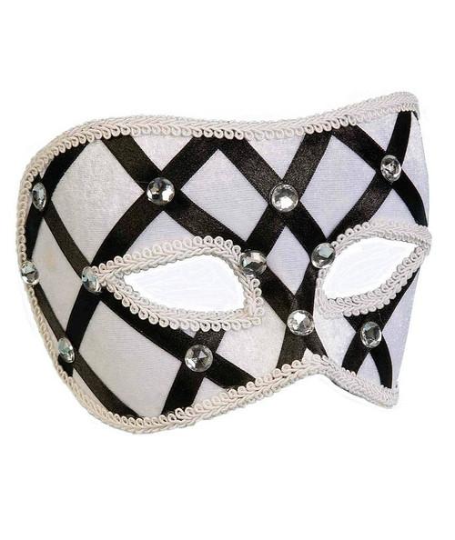 Domino Half Mask