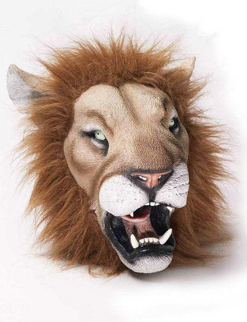 Deluxe Lion Latex Mask