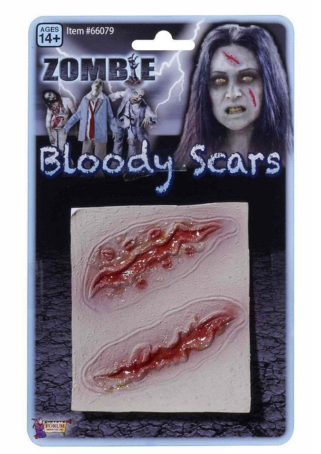 Zombie Bloody Long Scars