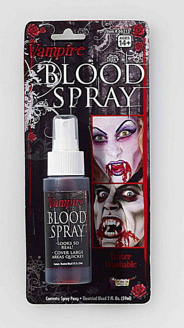 Vampire spray Blood Red