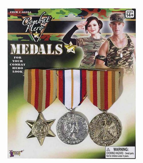 Combat Hero Medals