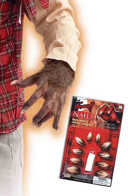 Werewolf Deluxe Nails