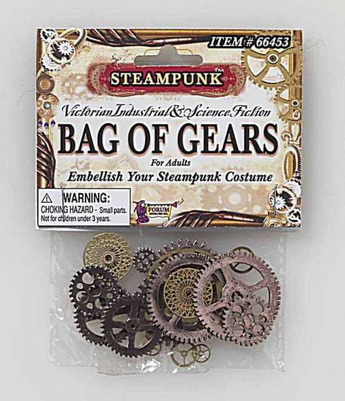 Steampunk Set of Gears