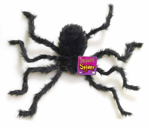 Hairy Spider Decor 9""