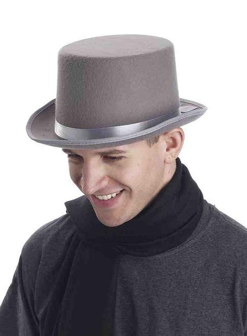 Super Deluxe Grey Top Hat
