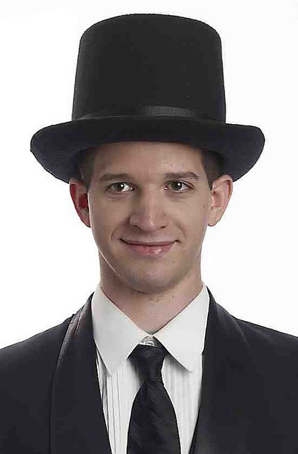 Super Deluxe Black Top Hat