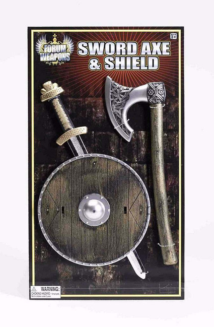 Viking Shield, Sword and Axe