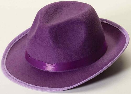 Deluxe Purple Fedora