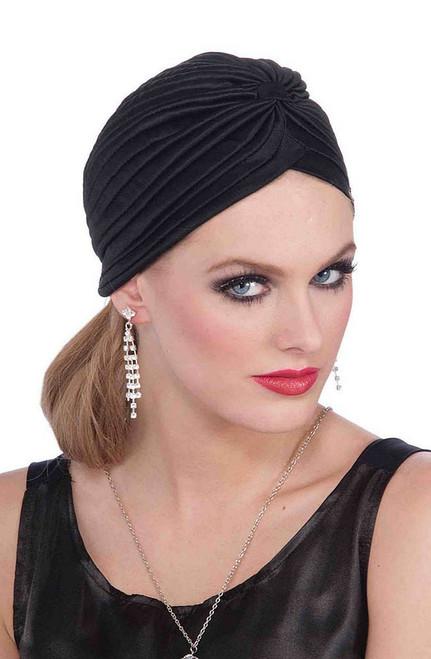 Vintage Black Turban
