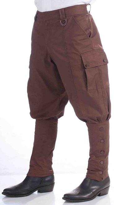 Steampunk Pants Brown