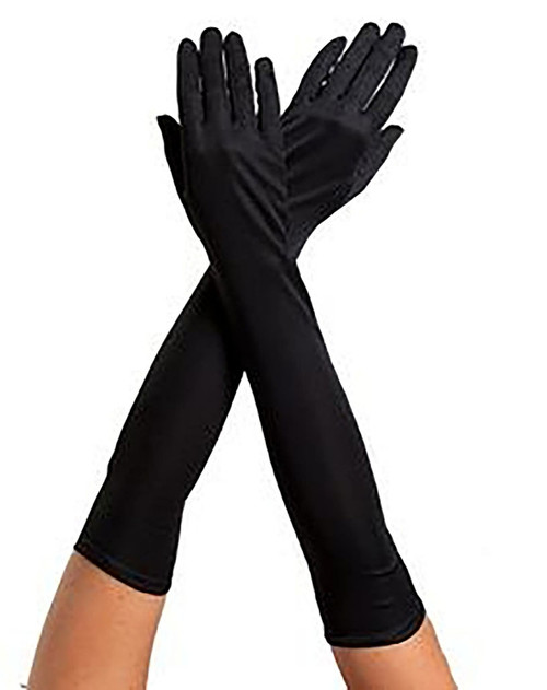 Child Black Gloves
