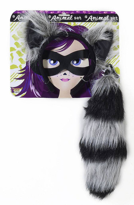 Raccoon Tail & Ears Kit
