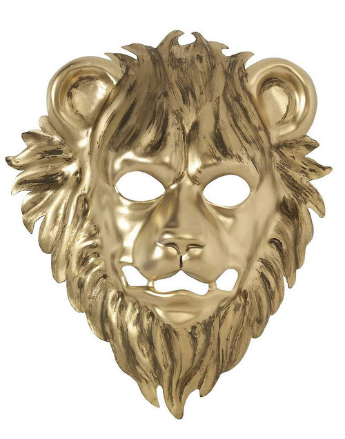 Gold Lion Mask