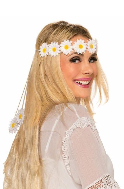 60's Hippie Daisy Headband