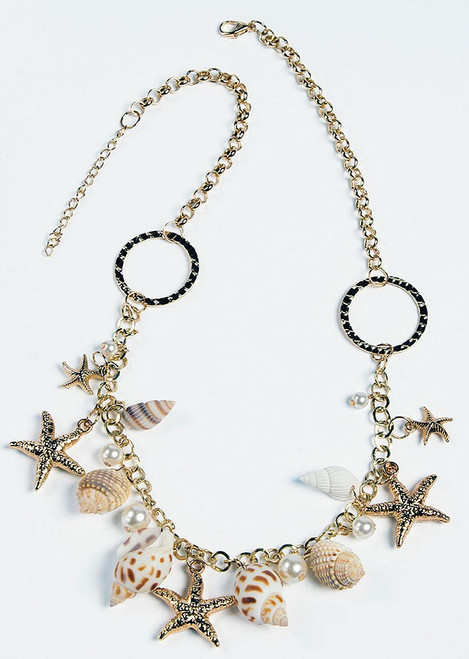 Mermaid Star Shells Necklace