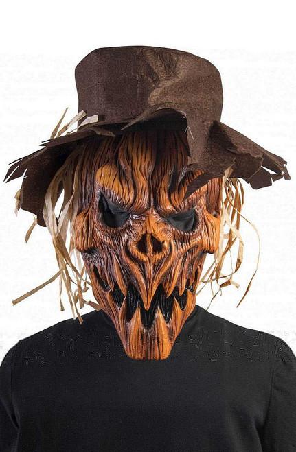 Pumpkin Scarecrow Mask & Hat
