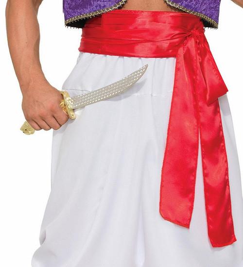 Deluxe Aladdin Red Sash