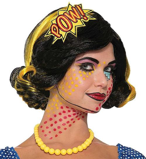 "Pop Art Comic ""Pow"" Headband"