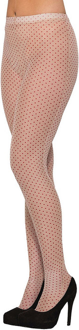 Pop Art Polka Dot Pantyhose