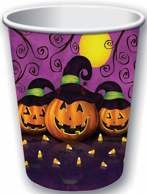 9oz Pumpkin Cups 8-Pack