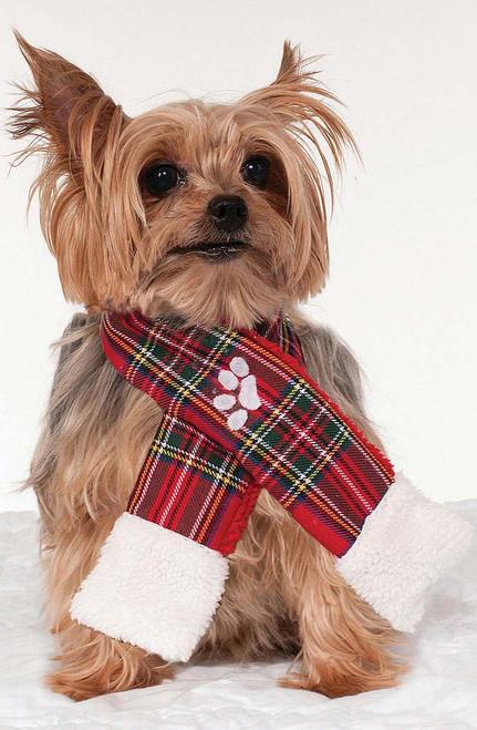 Christmas Scarf Pet Costume