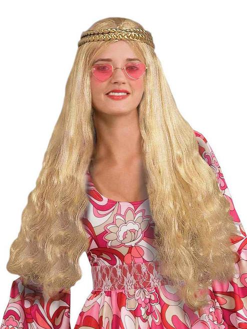 Adult Flower Child Wig