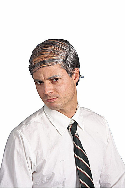 Baldman's Comb Over grey Wig