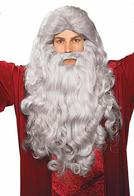 Moses & Santa Grey Wig