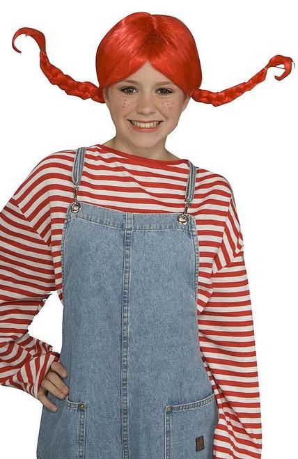 Red PigTail Wig