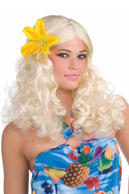 Hawaiian Blonde Wig