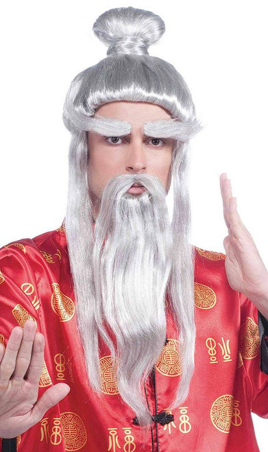 Martial Arts Master Wig