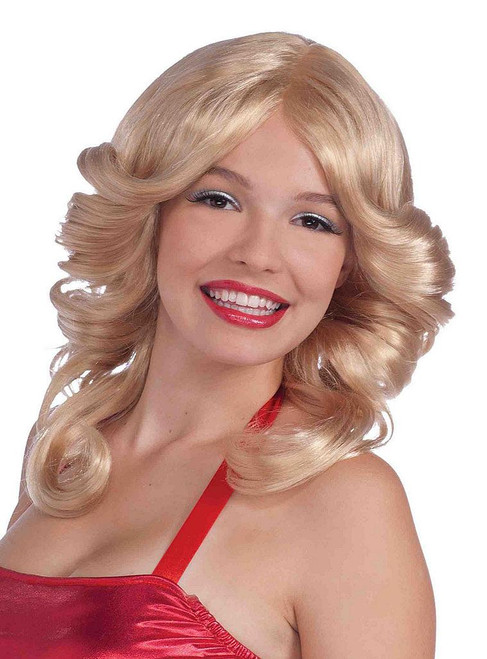 Disco Angel Blonde Wig