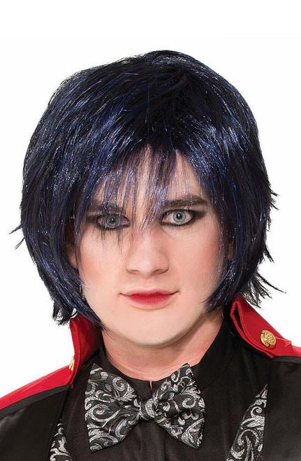 Twisted Indigo Blue Night Wig