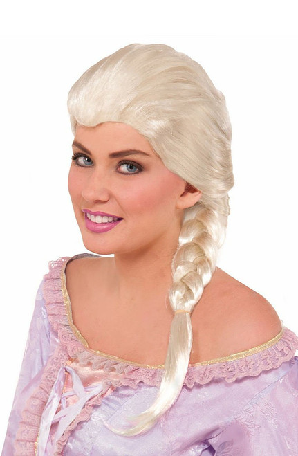 Frozen Elsa Princess Adult Wig