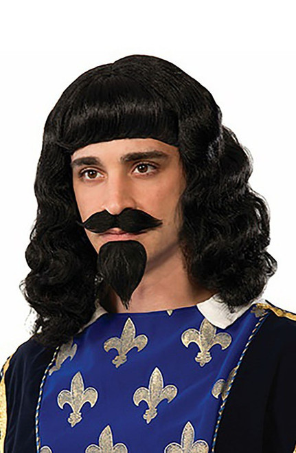 Musketeer Wig & Beard