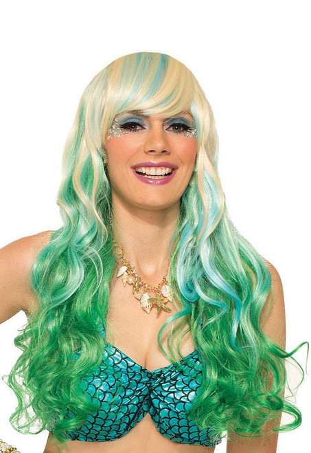 Mermaid Waves Wig