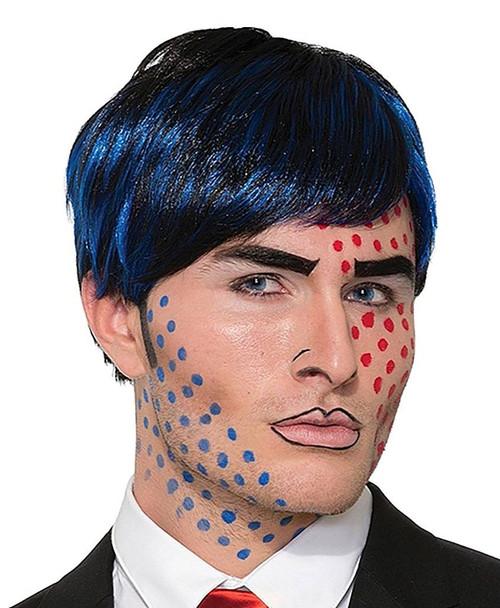 Bobby Boom Pop Art Wig