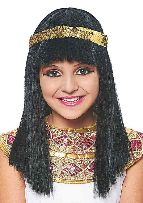 Cleopatra Wig Child
