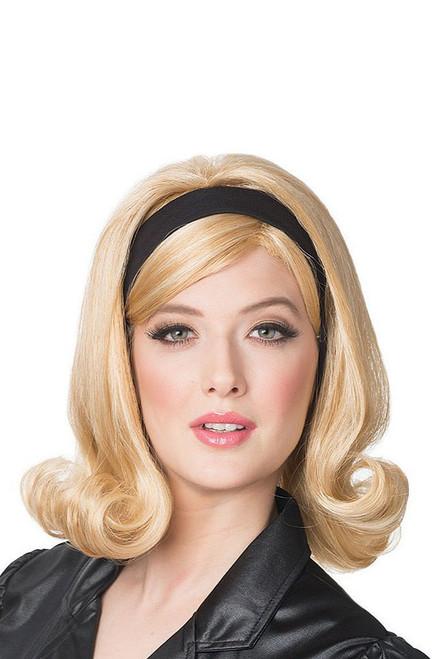 60's Flip Wig With Headband