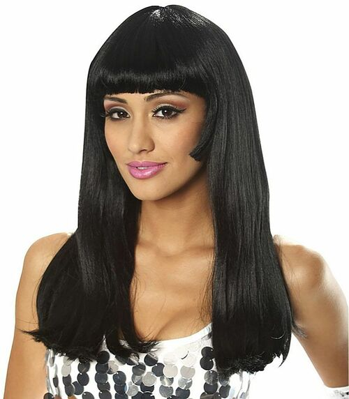 60's Babe black Wig