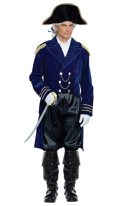 General Blue Colonial Costume