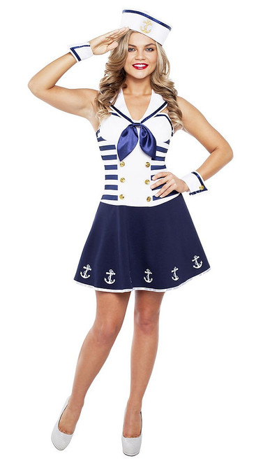 Sailor Girl Adult Costume