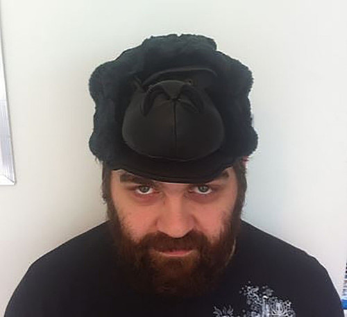 Plush Gorilla Head Hat