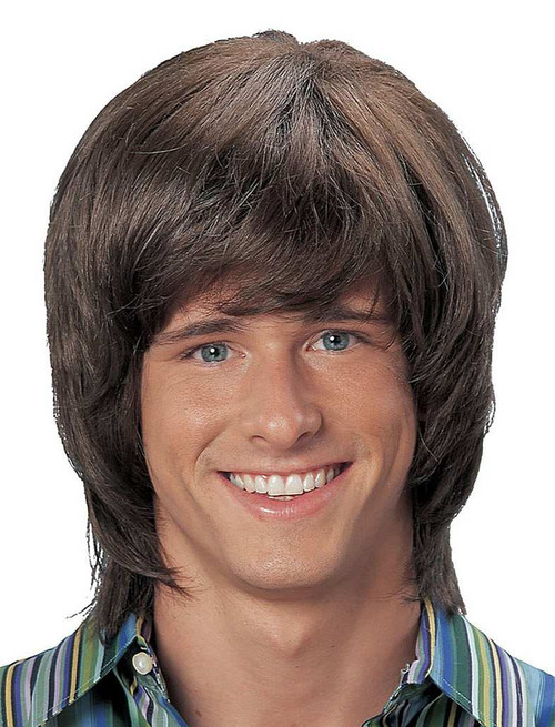 70's Shag Brown Wig