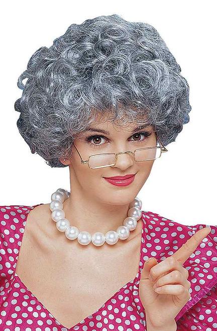 Mom Mixed grey Wig