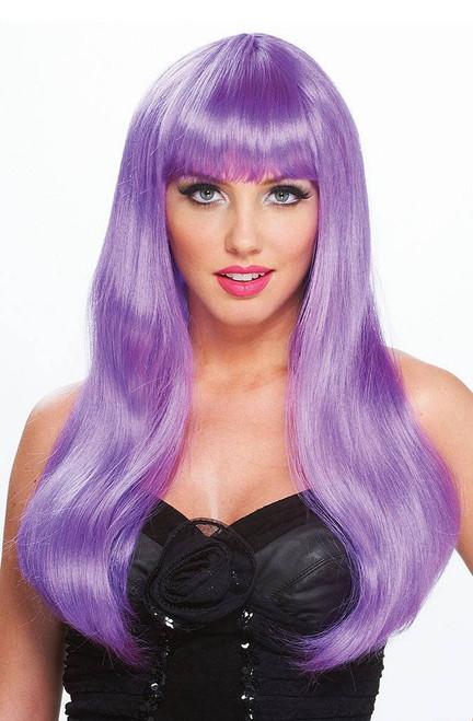 Fantasy Diva Purple Wig