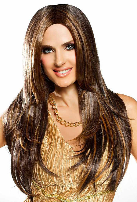 Red Carpet Wig Mixed Brown