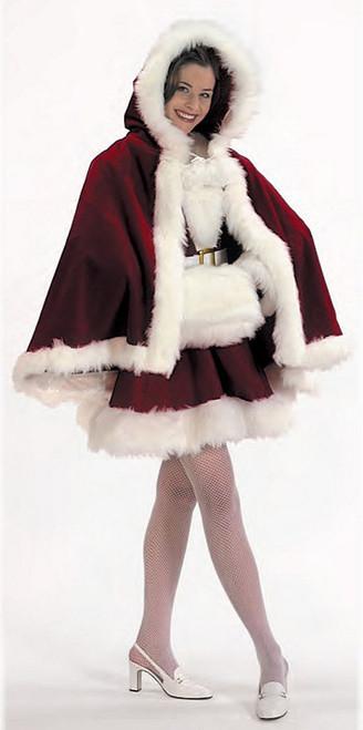 Velvet Christmas Cape & Muff