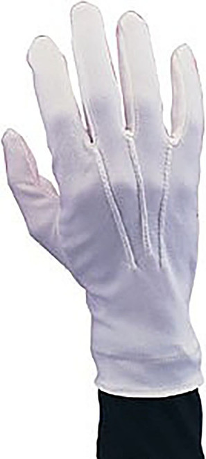Nylon Santa White Gloves