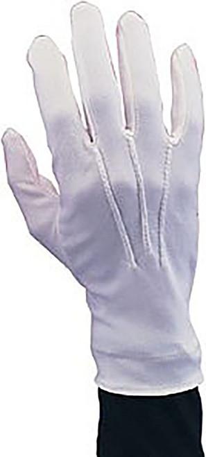 Nylon Santa White Gloves
